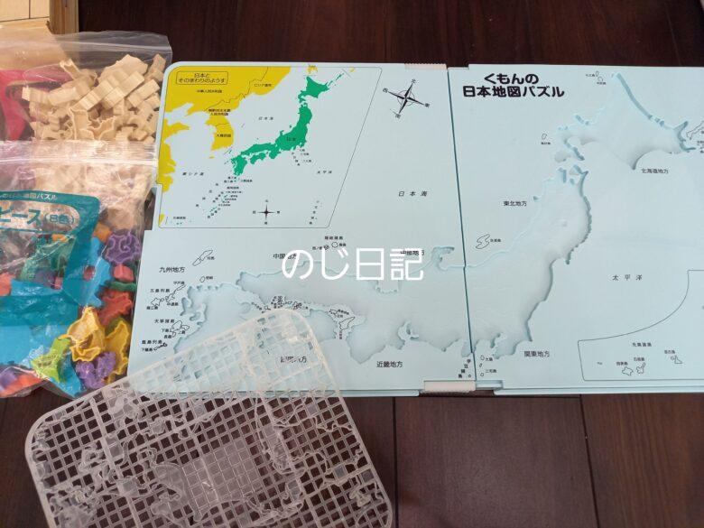 日本地図パズルの内容